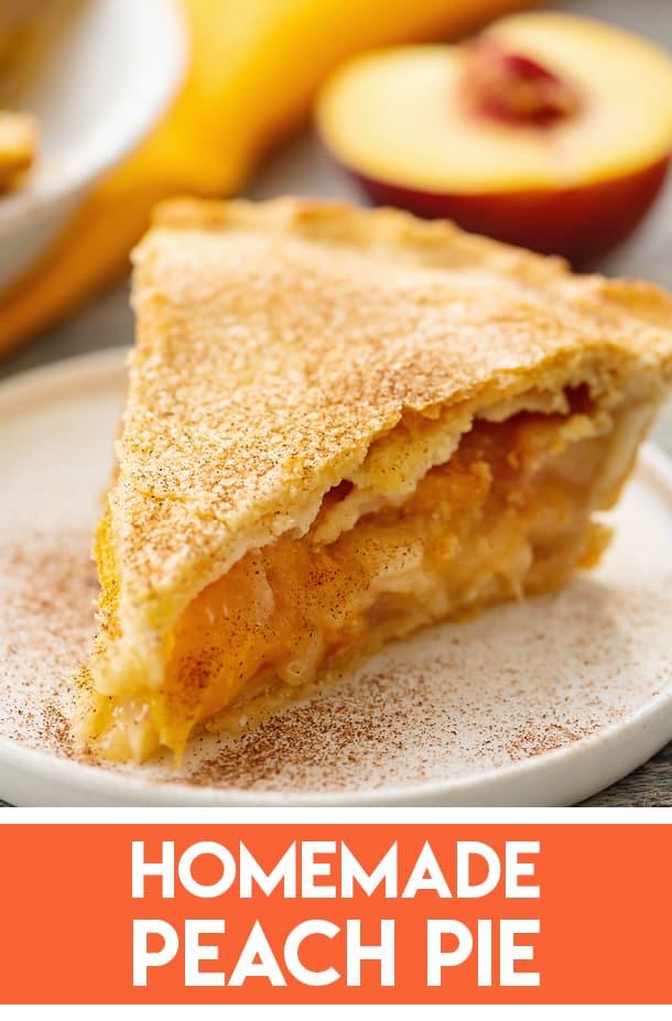 Grandma's Homemade Peach Pie Recipe