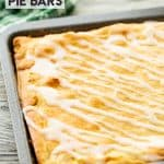Glazed Apple Pie Bars