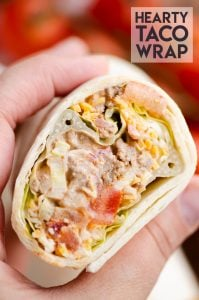 Hearty Taco Wrap