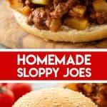 Homemade Sloppy Joes Recipe