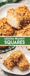 Mocha Peanut Square Bars