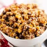 Southwest Quinoa Squash Salad in bowl