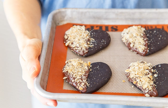 Chocolate Cookies with Ritz Crackers