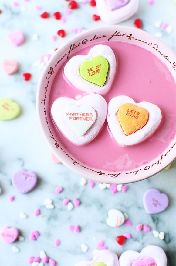 Conversation Heart Marshmallows