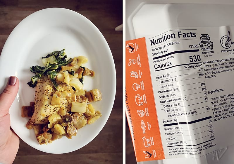Trifecta Curry Chicken Breast Meal Reviewed