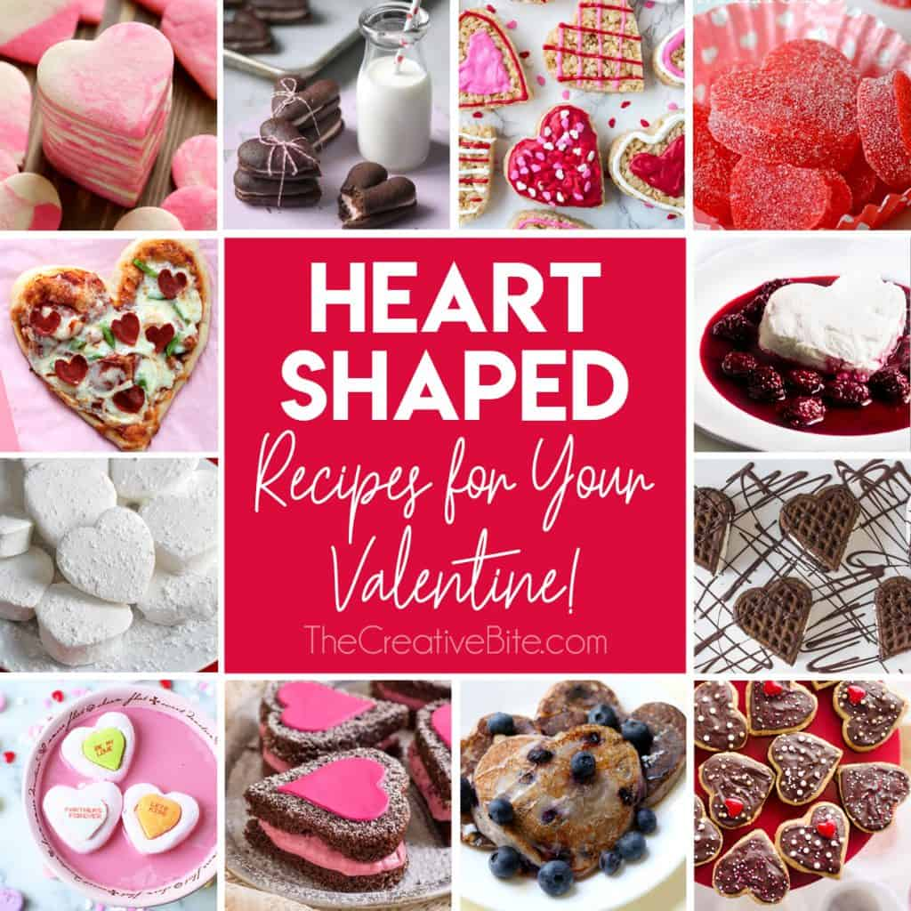 heart shaped recipes for your valentine