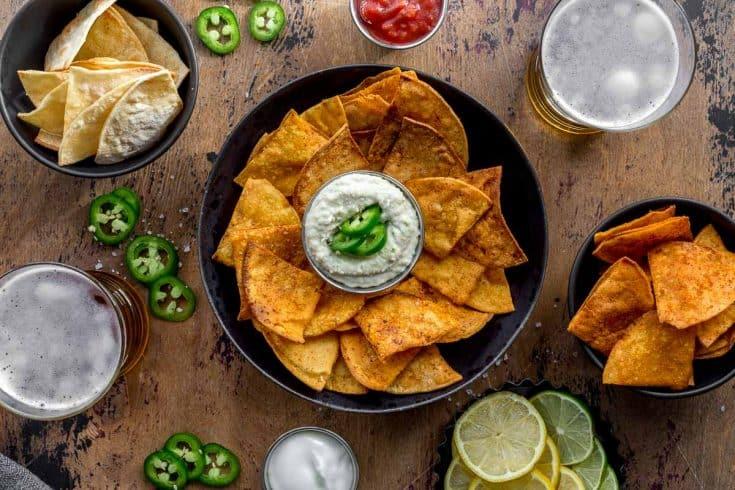 Tortilla Chips - 5 Ways!