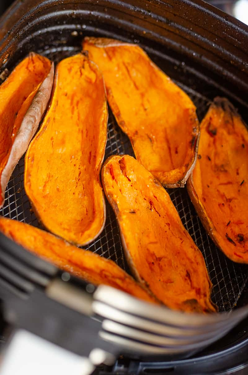 Sweet Potato Skins in Air Fryer