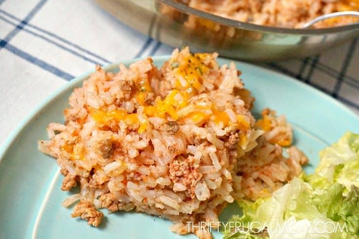 Speedy Spanish Rice and Ground Beef Skillet