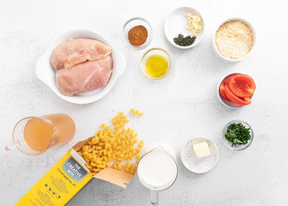 cajun chicken aflredo ingredients
