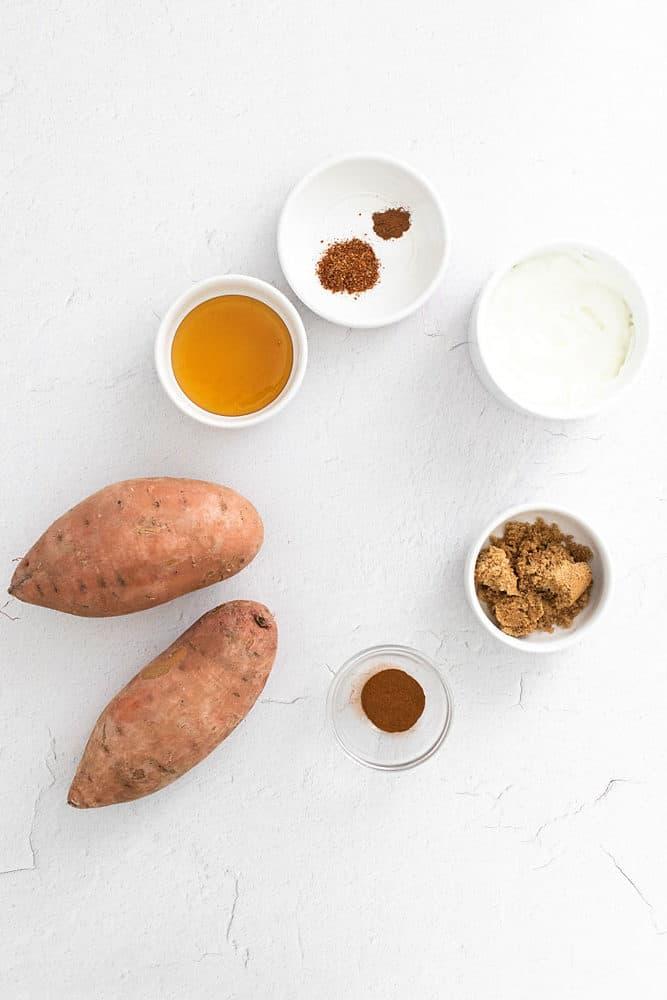 sweet potato fry ingredient