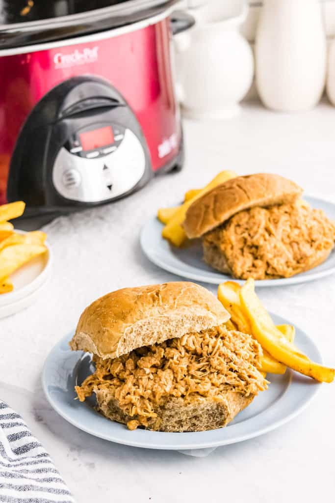pulled pork sandwiches with crock pot