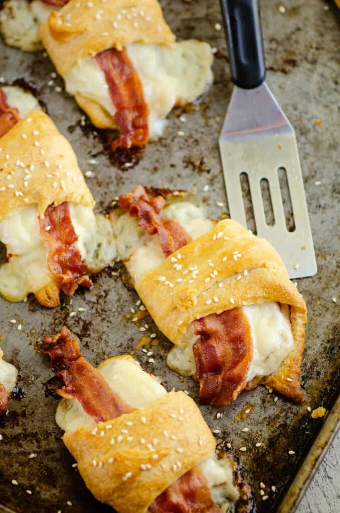 turkey bacon swiss crescent roll